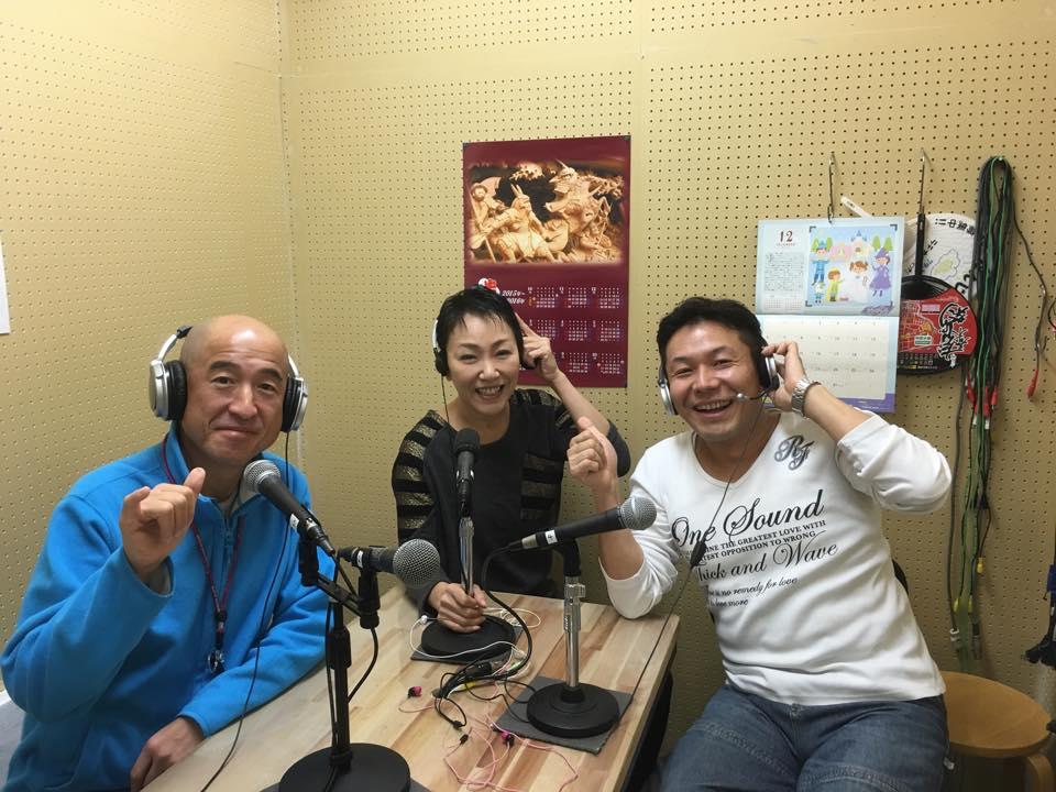 瀧本光静さんと百田達人さんのラヂオ番組にゲスト出演★